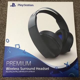 PS4 プレミアムワイヤレスヘッドセット