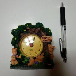 未使用 置き時計