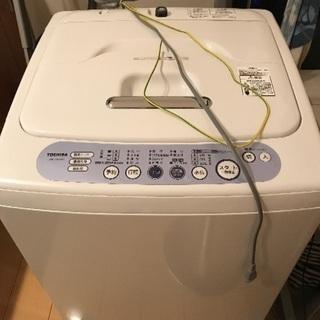 TOSHIBA 洗濯機 AW-205 簡易乾燥機能付