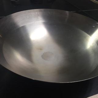 ステンレス中華鍋 48cm