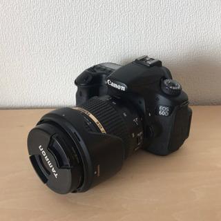 Canon EOS 60D レンズ TAMRON SP 17-5...