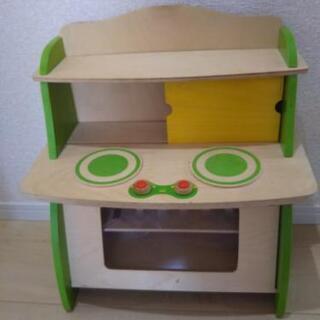 おままごと用木製キッチン