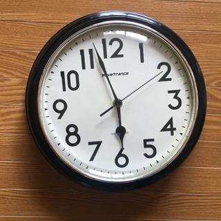WaveTrance レトロ アメリカン 電波時計 掛け時計