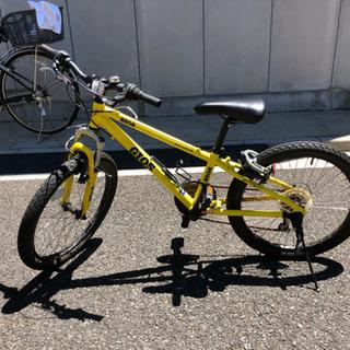 ジュニア22インチ自転車/イタリアGIOS社【郵送不可】