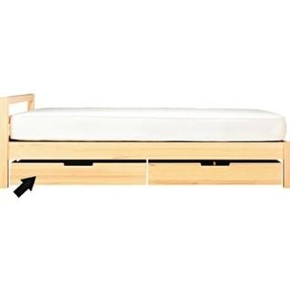 無印ベッドフレーム(収納付き2つ)