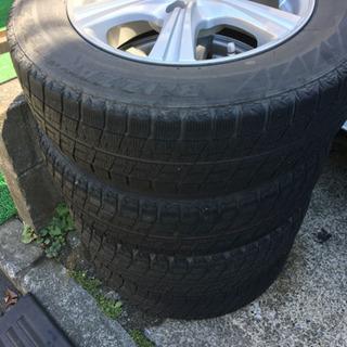 【ジャンク】175/70-14 タイヤ4本 スタッドレス