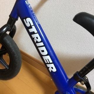 ストライダー ブルー ヘルメット付き