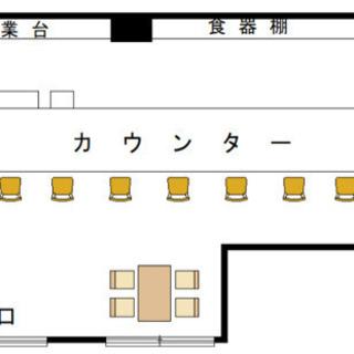 六甲道駅徒歩4分♫飲食店居抜き物件♫希少1階テナント♫おばんざい屋...