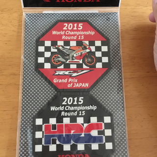 HONDA 2015日本GP限定コースターセット