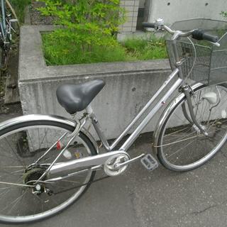 札幌 27インチ 6段変速 自転車 ママチャリ シティサイクル ...