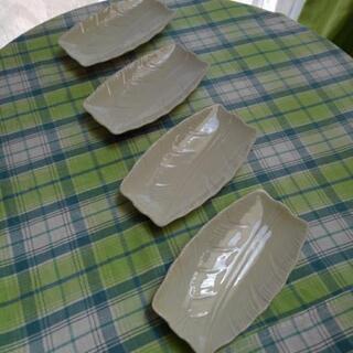 葉っぱの皿 17cm×9.5cm