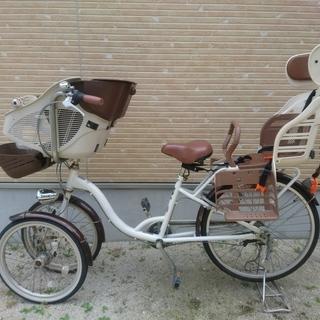 子供乗せ 三人乗り 自転車 バンビーナ ミムゴ 三輪 前二輪 Ba...