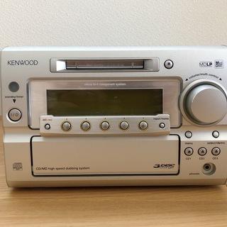 KENWOOD(ケンウッド) CD/MDコンポ RD-SG…