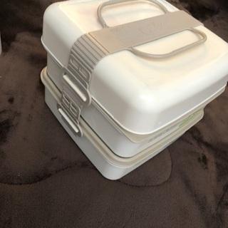 ◉ピクニック用 3段式 お弁当ボックス! − 鹿児島県