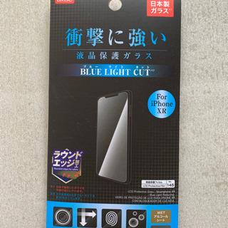 新品 iPhoneXR  液晶保護ガラス ブルーライトカット  ラ...