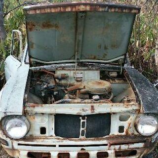 旧車 日産ダットサン・トラック エンジン