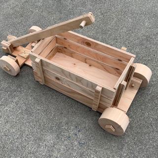 木製ラジオフライヤー
