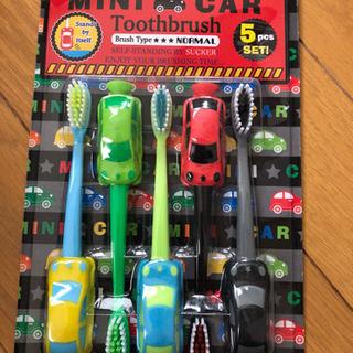 ミニカー歯ブラシ 5本セット