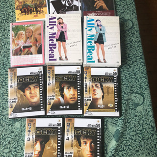 DVD全部で¥800