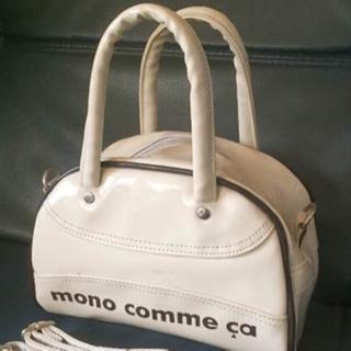 mono comme ca  2way  ミニボストン  ショル...