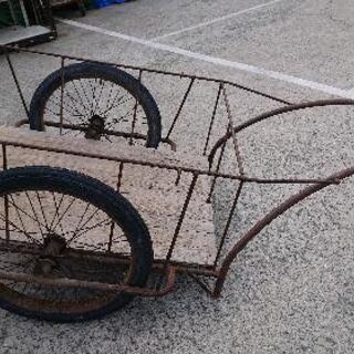 中古品 現状品リヤカーお売りします。