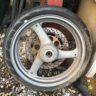 無料!バイク タイヤ2本