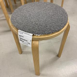 イケアの丸椅子8脚セット!クッション付き!