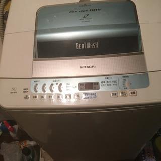 日立洗濯機譲ります。日立68L全自動 簡易乾燥付機能あり
