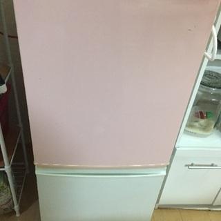 SJ-14K ピンク シャープの冷蔵庫 募集中!