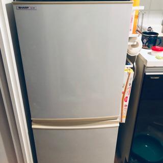 【現地渡】冷蔵庫 シャープ SJ-14P-H 2008年製