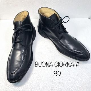 【BUONA GIORNATA】イタリア製 メンズ チャッカブー...