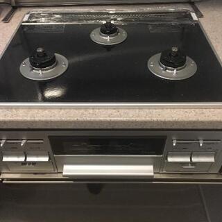 ✨新品未使用✨タカラ製ビルトインガスコンロ(TN57AV60C)