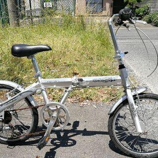 折り畳み自転車(日立市へ引き取り可能な方のみ対応)