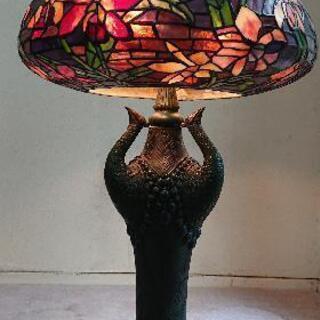 ステンドグラス調 フロアスタンドランプ アンティーク