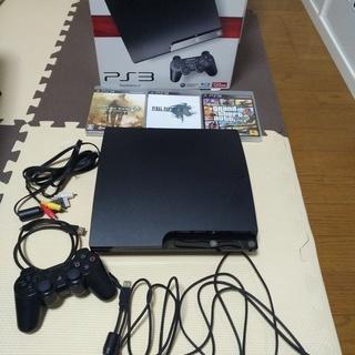 PS3本体120G+ゲーム3本