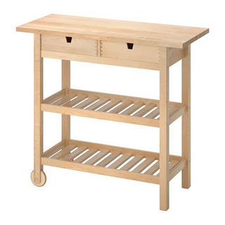 FÖRHÖJA フォルホイア キッチンワゴン 棚 テーブル カウンター