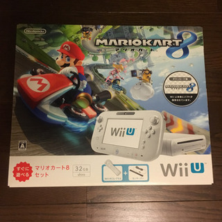 WiiU 本体セット ソフト4本付き