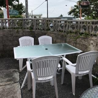 ガーデン用 テーブルセット