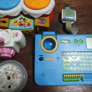 幼児玩具多数「稼働品」差し上げます。