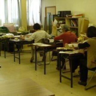 手織り教室(卓上手織り機)