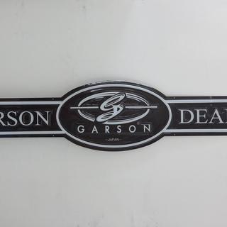 GARSON ギャルソンのサインボード 特大パネル 看板 ディス...