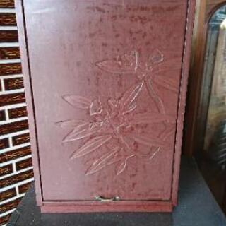 鎌倉彫り、和化粧鏡、小物入れ