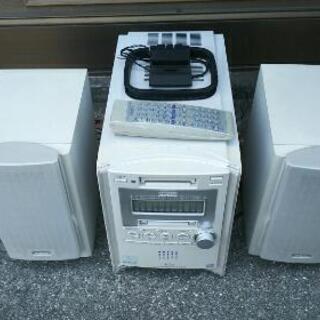 Victor・CD5枚チェンジャー.MD.カセットテープ.コンポ