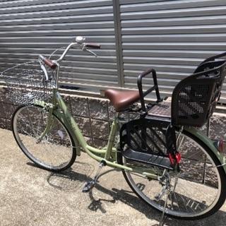 買って3ヶ月!子供乗せ自転車