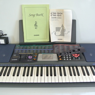 CASIO カシオ 電子ピアノ オルガン キーボード CTK-5...
