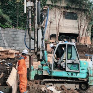 急募!!根伐り工事、地盤改良工事、その他雑工