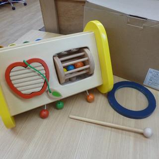 エドインター 森の音楽会 木製玩具 知育玩具 木のおもちゃ 音が出...