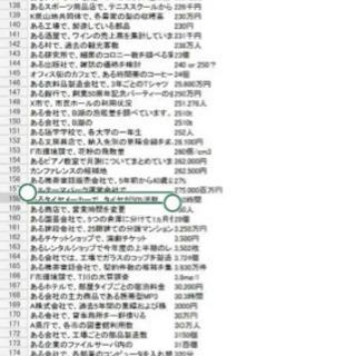 webテスト【21、20卒】 解答集