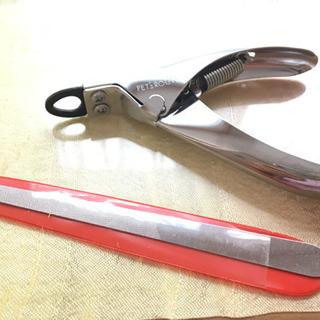 自宅でペットの爪切り/ステンレスやすり付き(全犬種対応)