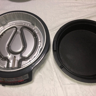 SHARP南部鉄器グリル鍋KX-XG34美品(値下げ)